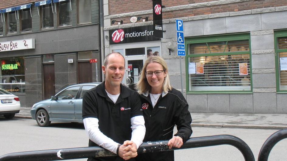 Motionsform i Örebro fokuserar på kundens resultat