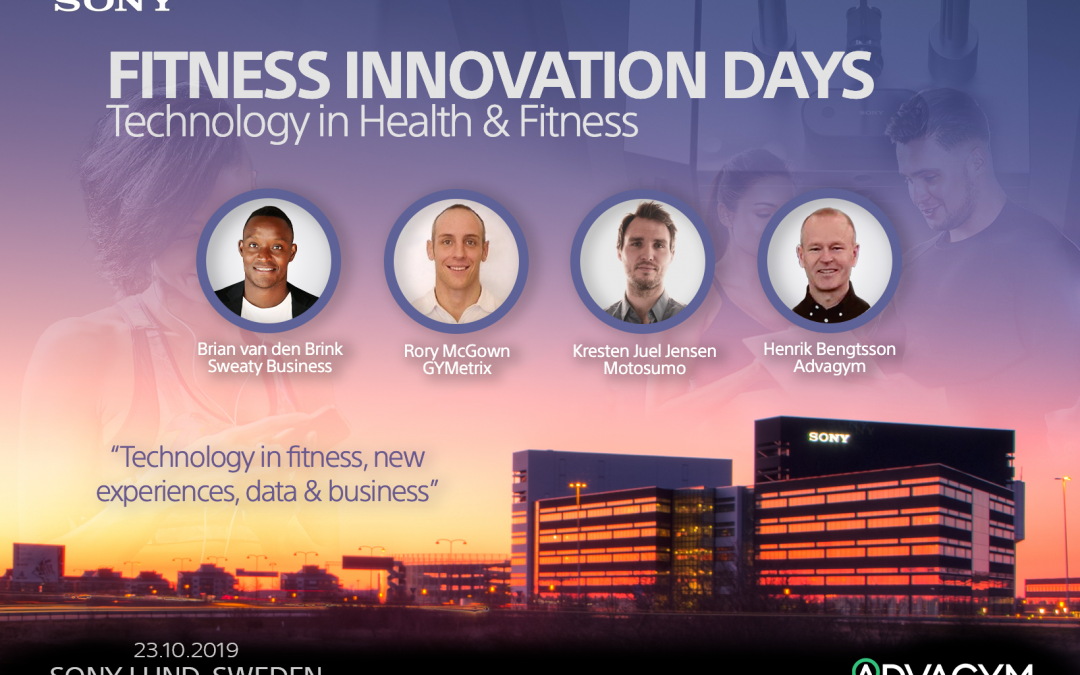 SONY Fitness Innovations Days: 23 oktober