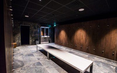 Designade omklädningsrum, trenden som är här för att  stanna