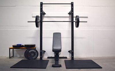 Nyhet! Effektiva träningsytor med Casall PROs Foldable squat rack
